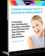 Power Productivity & Biz Management for Administrative Consultants