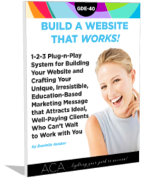 Build a Website that WORKS!