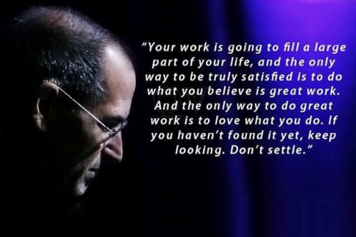 It's Not Enough to Love What You Do to Do Great Work