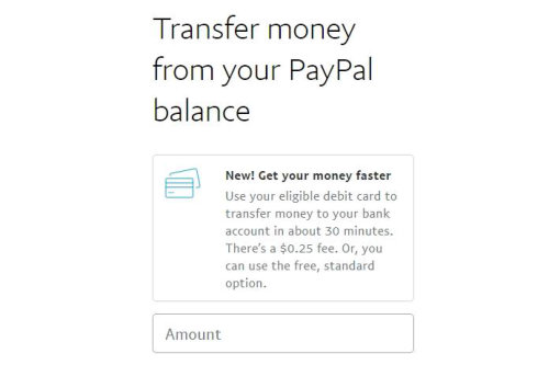 Paypal Instant Transfer Is Here!