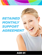virtual assistant retained support agreement