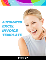 Automated Excel Invoice Template (FRM07)